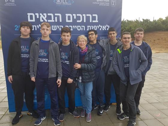 הגימנסיה באליפות הסייבר הישראלית