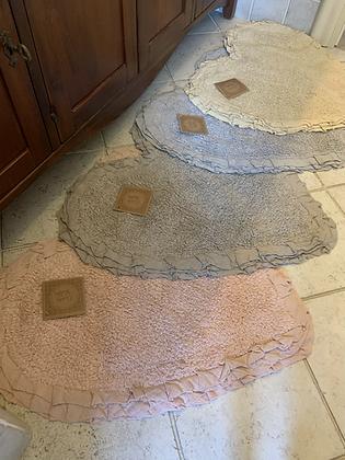 Tappeto bagno Frill a Cuore