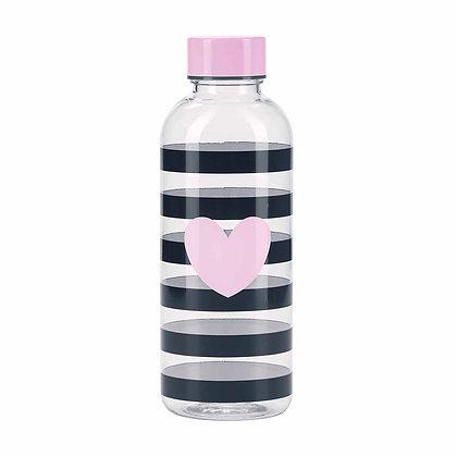 Bottiglia acqua a righe