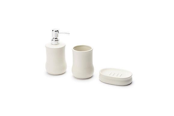Set da bagno bianco