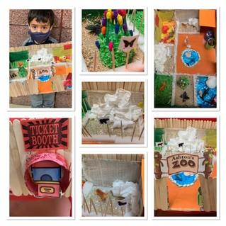 Happiness House kids learn about animals and their habitats