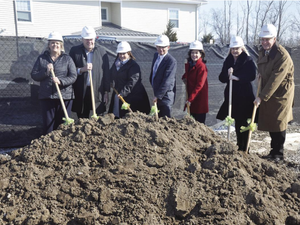 Officials Break ground on next phase of Happiness House project