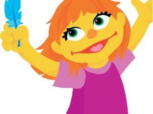 "Sensory-Friendly Family Event with Walkaround Julia from ""Sesame Street"""