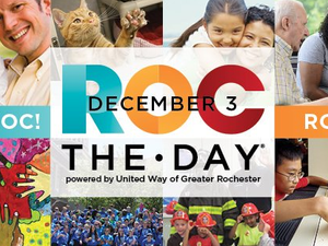 United Way ROC the Day on December 3