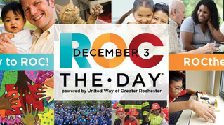 United Way Wednesday: ROC the Day on December 3