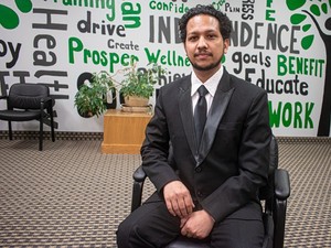 Bijaya Khadka builds the America he dreamed of as a refugee