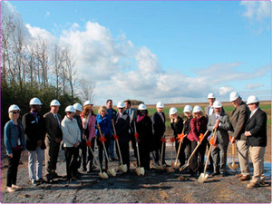 FINGER LAKES UNITED CEREBRAL PALSY (FLUCP), INC./HAPPINESS HOUSE BREAKS GROUND ON 20 UNIT APARTMENT