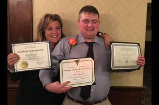 Wayne-Finger Lakes student receives state award