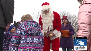 Preschoolers at CP Rochester receive visit from Santa
