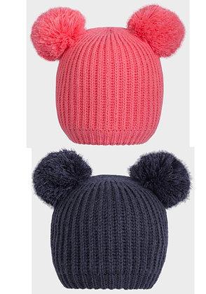 Fleece Lined Bobble Hat (2 colours)