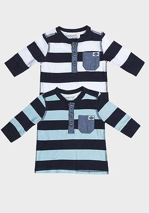 Babaluno Striped Top (2 colours)