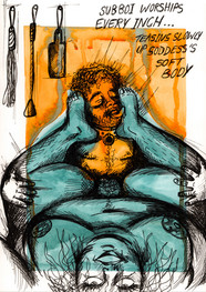 The Many Ecstasies of Goddess (sub boi worships every inch)