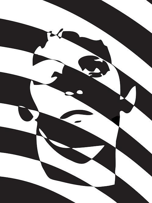 Spantzo Poster - Lou Reed Transformer