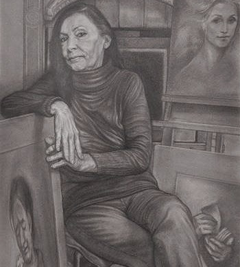portrait of artist ILIA RUBINI