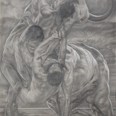 THE BULL AND EUROPE-central panel
