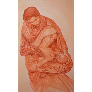 MARIA Lactans-JOSEPH nutritor Domini