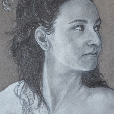 """FEDERICA (detail of """"Duilio's family)"""