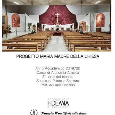 PROGETTO 2 PALE PER LA CHIESA PARROCCHIALE DI CASAZZA