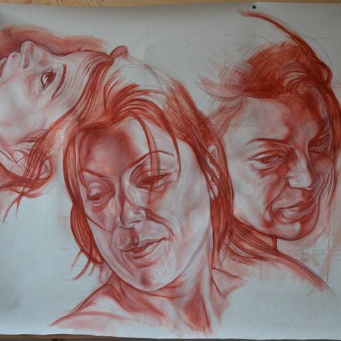 "RESURRECTIO: ""Anita"" study of heads"