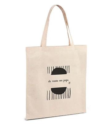 """Tote Bag """"de vento em popa""""."""