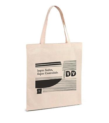 """Tote Bag """"por linhas tortas"""""""