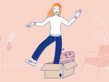 Mudar de casa: desprendimentos e minimalismo