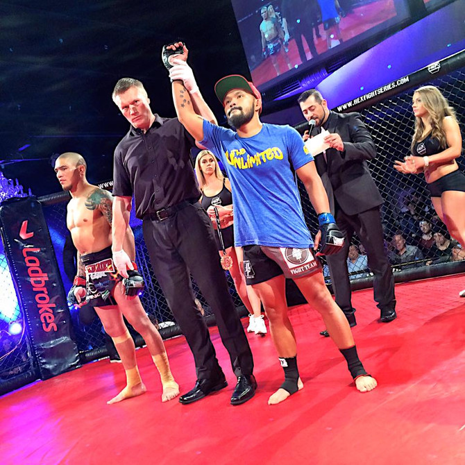 Fight Team News: Ambrose and Cacdac both win at Hex Fight Series 4 in Australia