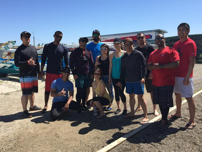 Unlimited Fit Team: Outrigger Canoe Paddle Day
