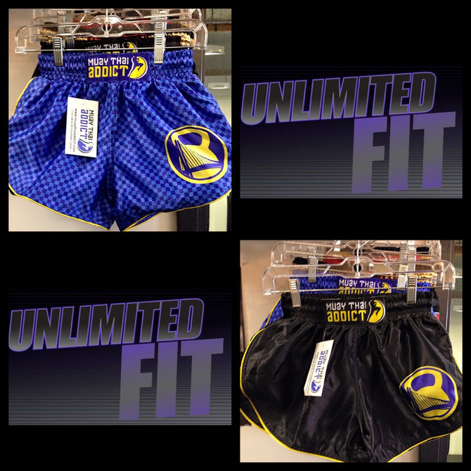 Muay Thai Addict x Unlimited | Fit & Fight Shorts