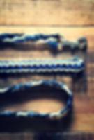 犬のリード|3色カラー編み|パラコード