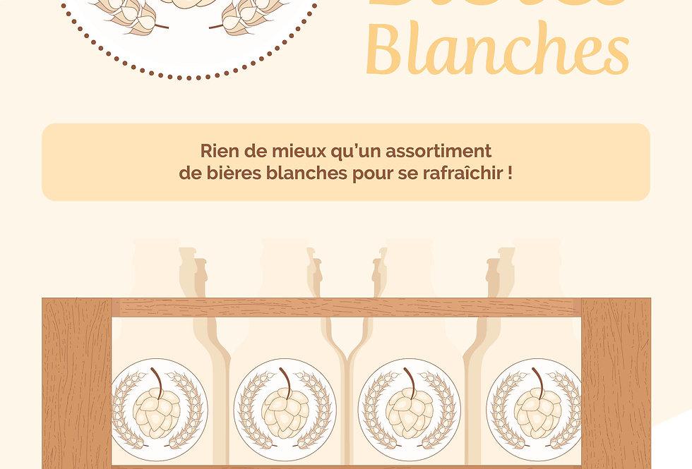 Box Blanches (12 bières)