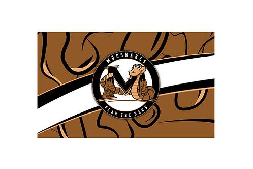 MUDSNAKES - FLAG 3' X 5'