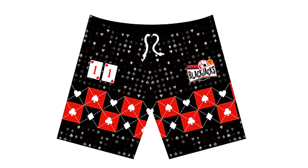 BLACKJACKS - Athletic Short w/Pockets