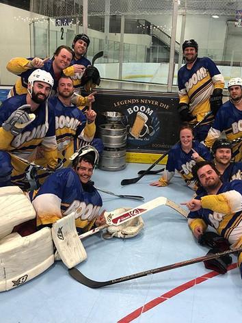 @boombeerhockeyclub remains undefeated.