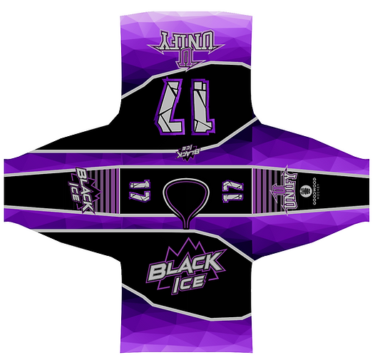 Black Ice Authentic Pro Jersey (BLACK)