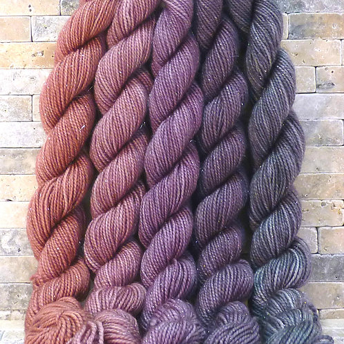 Sparkle Mini Skeins, 435 Yards Total
