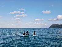 蘭嶼東清灣SUP立槳體驗