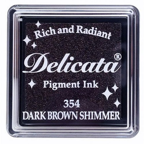 Encreur Delicata pigment Dark brown shimmer