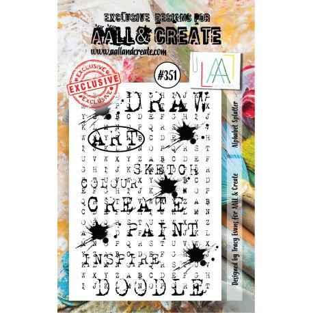 Stamp set #351- Aall and create