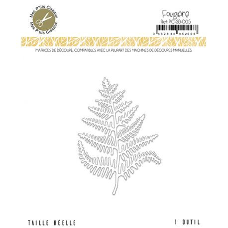 Matrices de découpe Fougère - Sous-Bois Mes Ptits Ciseaux