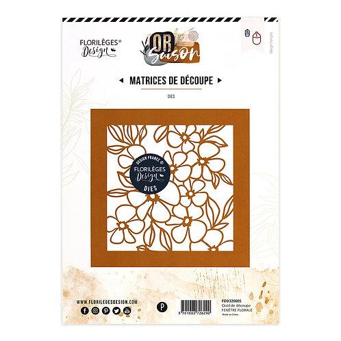 Outils de découpe  Fenêtre Florale Or Saison Florilèges Design