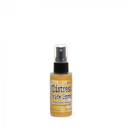 Distress Oxide Spray Fossilized Amber Ranger