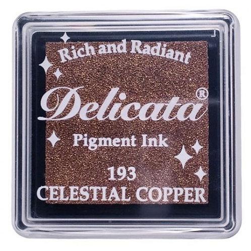Encreur Delicata pigment Celestial copper