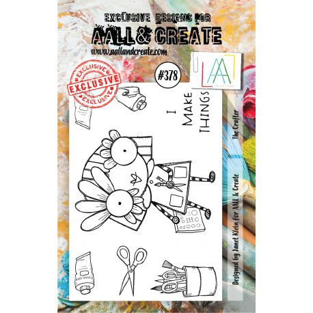 Stamp set #378- Aall and create