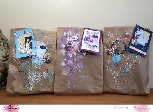 Petites cartes et emballages cadeaux