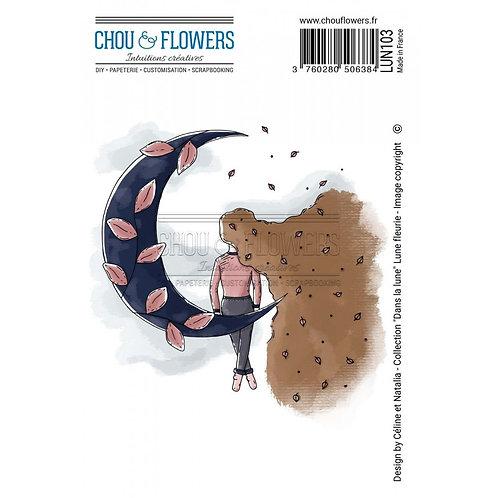Tampons EZ Lune Fleurie Chou &  Flowers Dans la lune
