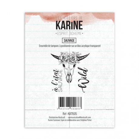 Tampons clears Sauvage - Les Ateliers de Karine-Esprit Bohème