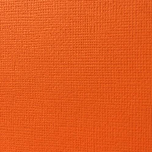Cardstock Orange 30,5x30,5 cm 216gr
