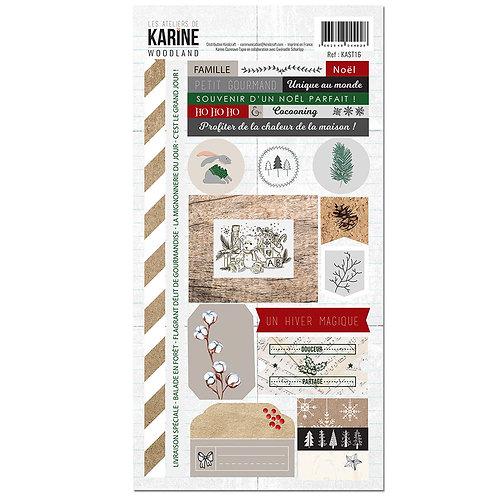 Stickers Woodland LES ATELIERS DE KARINE
