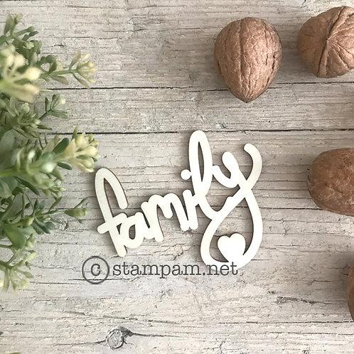 Mot en bois Family  Stampam